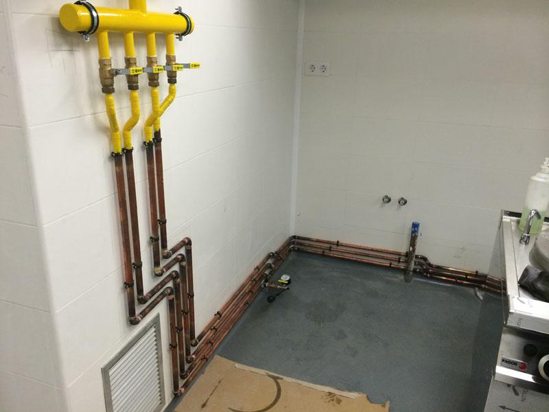 Proyectos aplicagas for Instalacion cocina industrial